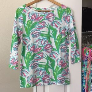 Lilly Pulitzer LS Top